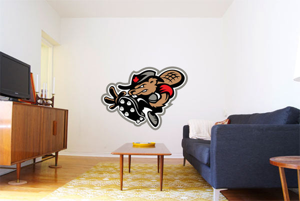 Ottawa Renegades Logo Wall Decal