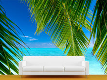 Load image into Gallery viewer, Palm Tree Leaves Wall Mural