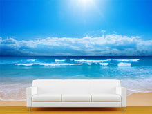 Load image into Gallery viewer, Paradise Beach Wall Mural