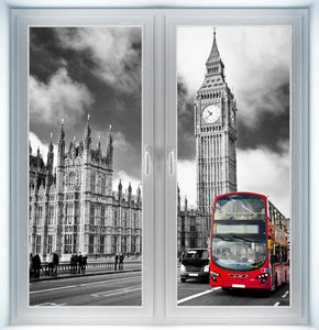 Parliament and Westminster Bridge Instant Window