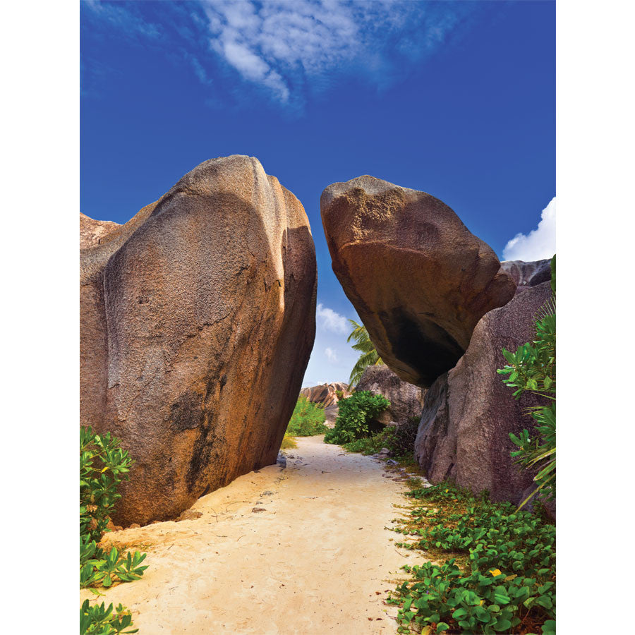Pathway to Tropical Beach Wall Mural