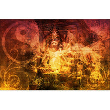 Load image into Gallery viewer, Peaceful Buddha Wall Mural