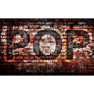 Pop Music Wall Mural