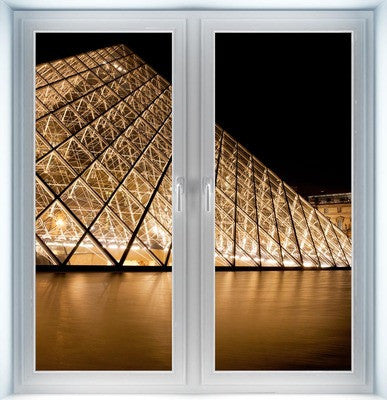 Pyramid of Louvre Instant Window