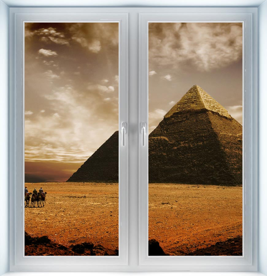 Pyramids of Giza Instant Window