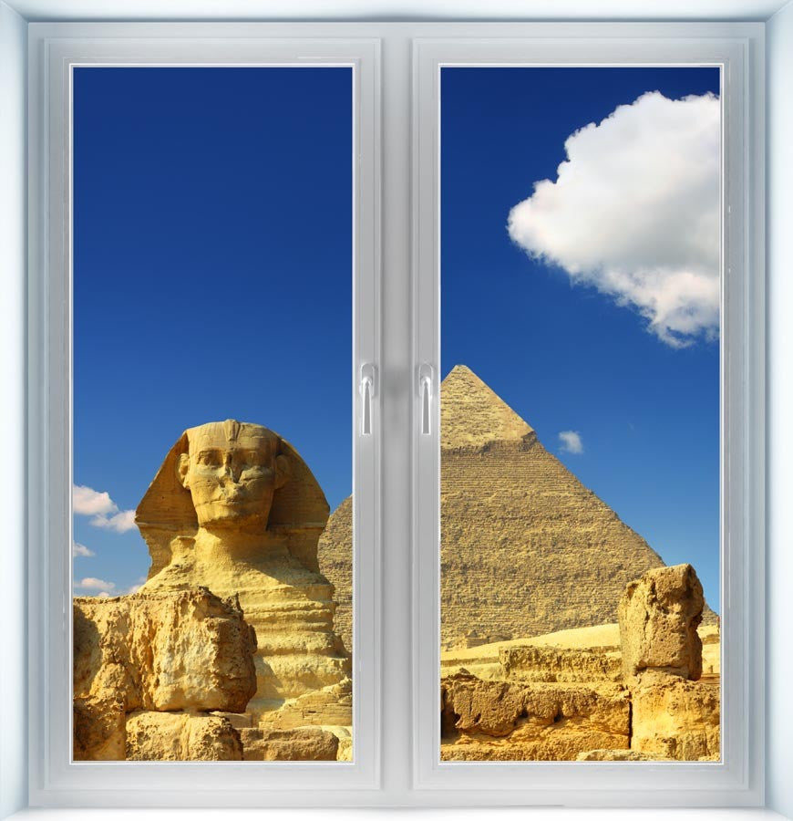 Pyramids and Sphinx Instant Window