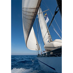 Sailing Boat Side View Wall Mural