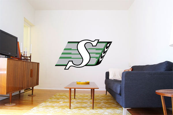 Saskatchewan Roughriders Logo Wall Decal 2