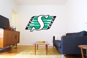 Saskatchewan Roughriders Logo Wall Decal