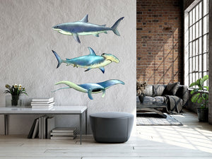 Sea Creatures Wall Stickers Wall Decal