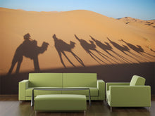 Load image into Gallery viewer, Shadow of Camel Riders Wall Mural