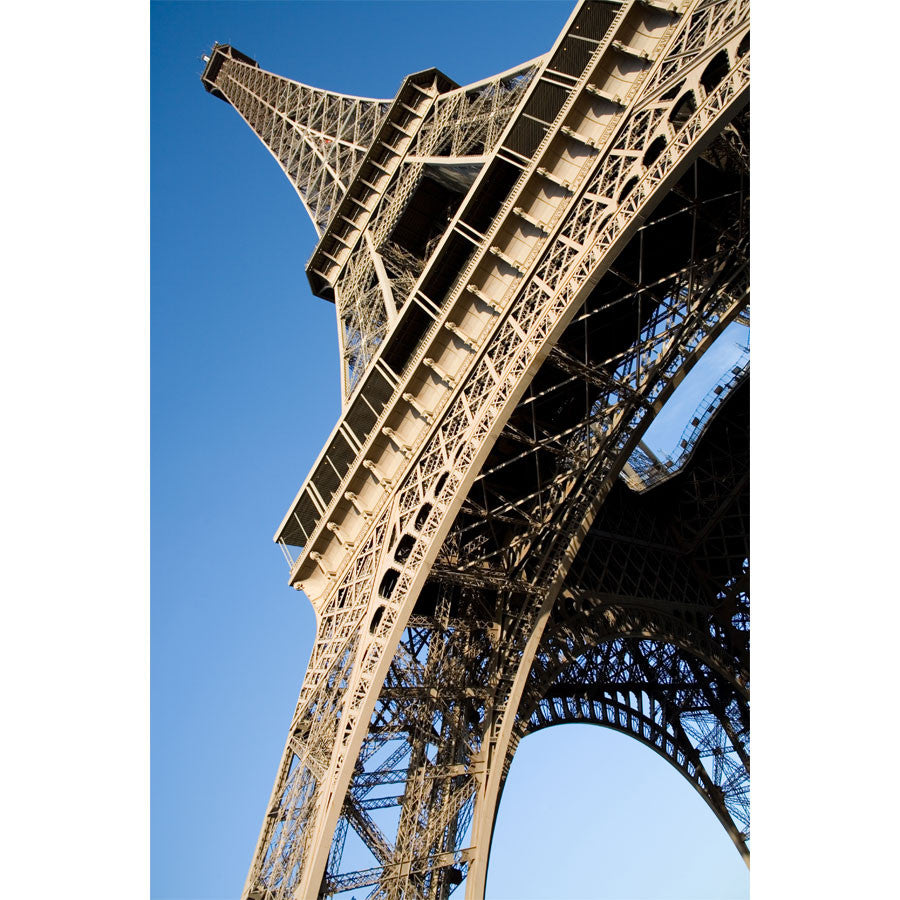 Side View Eiffel Tower Wall Mural