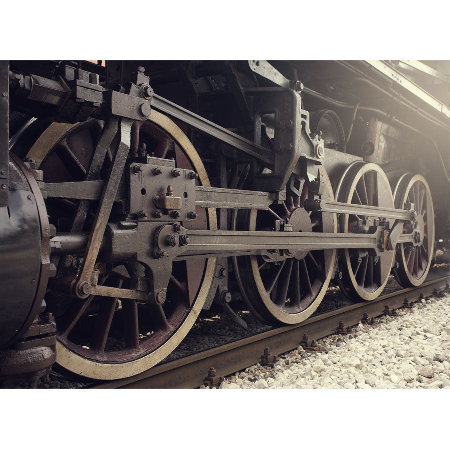Steam Train Wall Mural