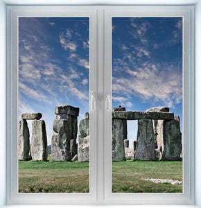 Stone Henge Instant Window
