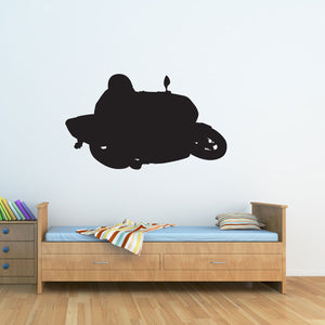 Street Bike Wall Decal