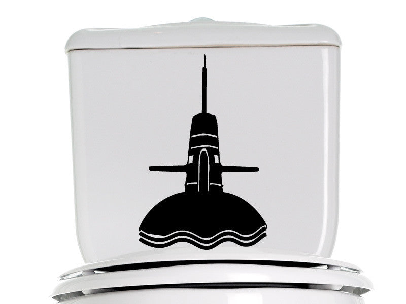 Submarine Bathroom Decal 2