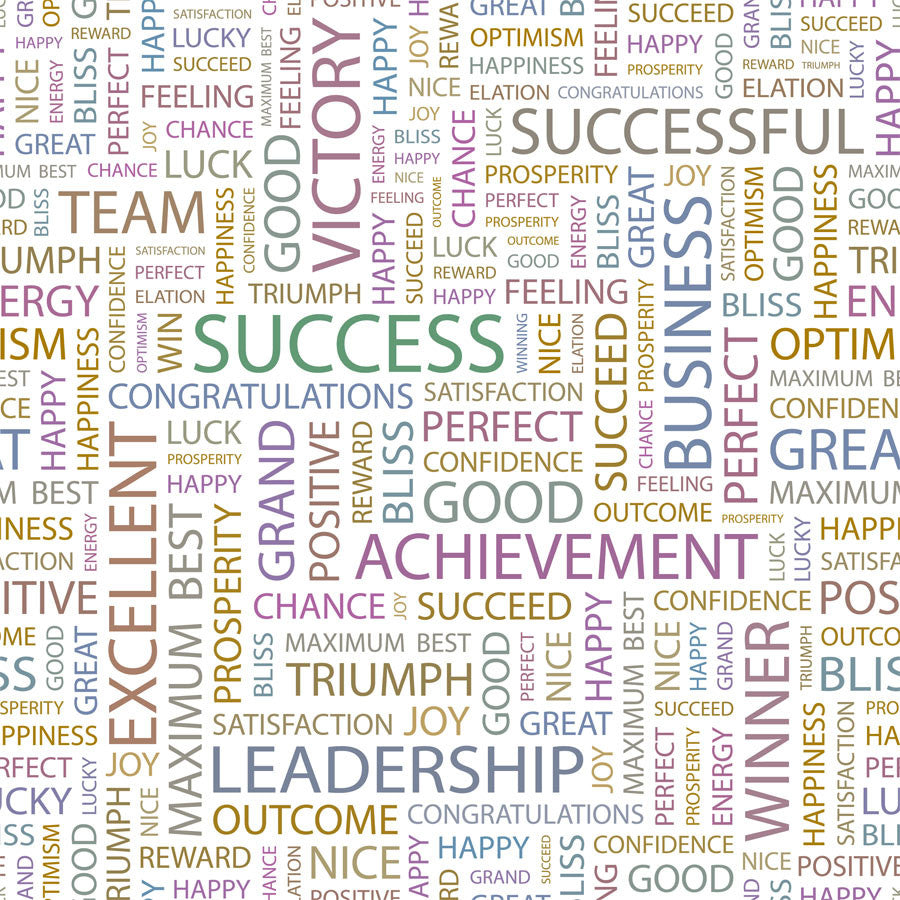 Success Pattern Wall Mural