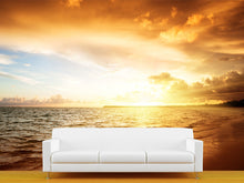 Load image into Gallery viewer, Sunrise in the Dominican Republlic Wall Mural