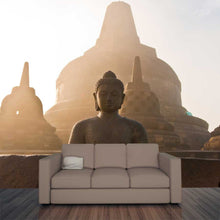 Load image into Gallery viewer, Tall Buddha Wall Mural