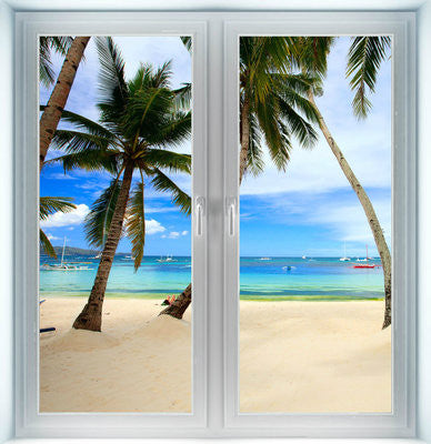 Thailand Beach Instant Window