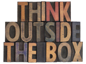Think Outside the Box Wall Mural