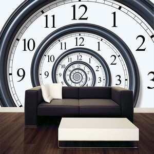 Time Spiral Wall Mural