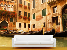 Load image into Gallery viewer, Traditional Venice Gondola Ride Wall Mural