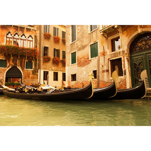 Traditional Venice Gondola Ride Wall Mural