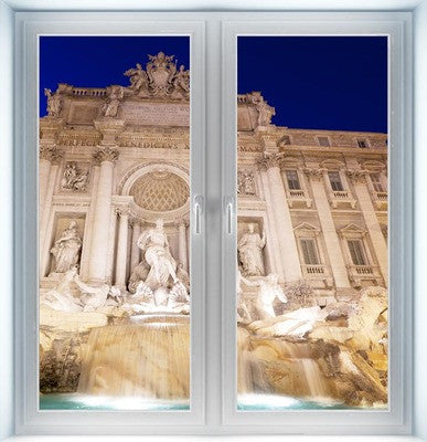 Trevi Fountain Instant Window