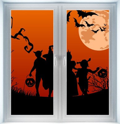 Trick or Treat Instant Window