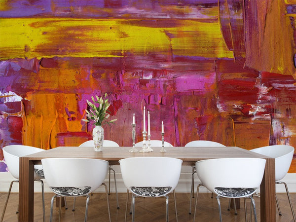 Vibrant Painting Wall Mural