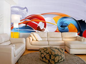 Vibrant Wall Mural