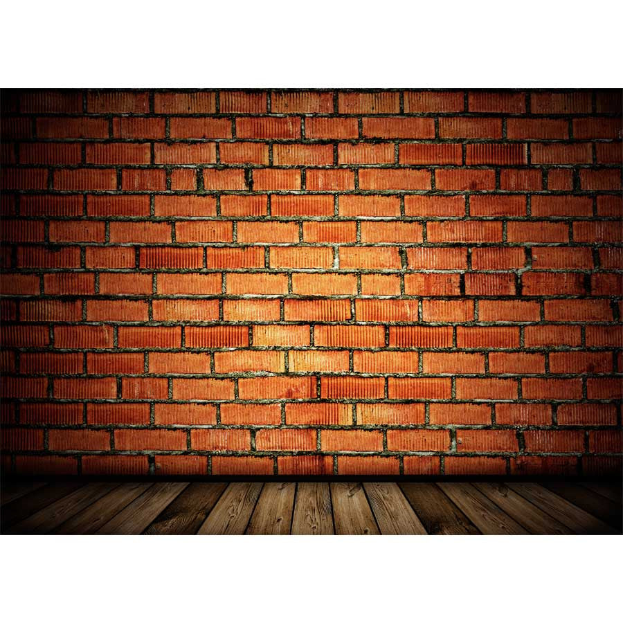 Vintage Brick Wall Background Wall Mural