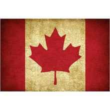 Load image into Gallery viewer, Vintage Canadian Flag Wall Mural