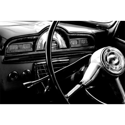 Vintage Car Dash Wall Mural