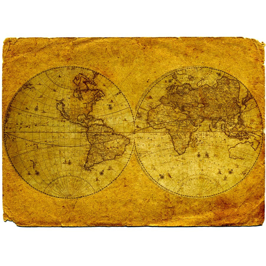 Vintage world map wall mural majestic wall art vintage world map wall mural gumiabroncs Gallery