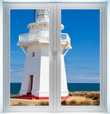 Wairapa Point Lighthouse Instant Window