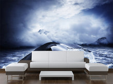 Load image into Gallery viewer, Whale Tail Wall Mural