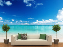 Load image into Gallery viewer, White Sandy Beach Wall Mural