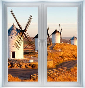 Windmills in Consuergra Instant Window
