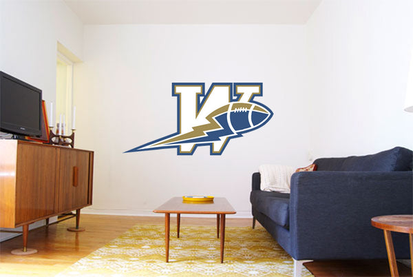 Winnipeg Blue Bombers Logo Wall Decal 2