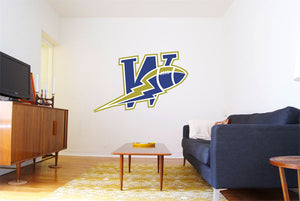 Winnipeg Blue Bombers Logo Wall Decal