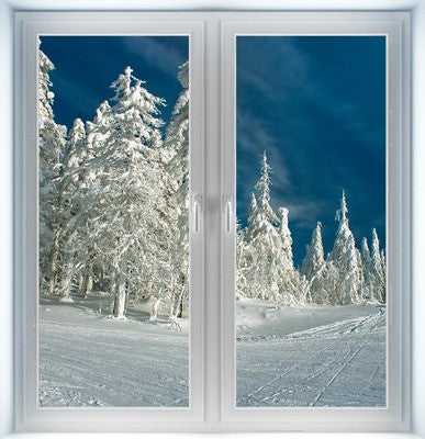 Winter Wonderland Instant Window