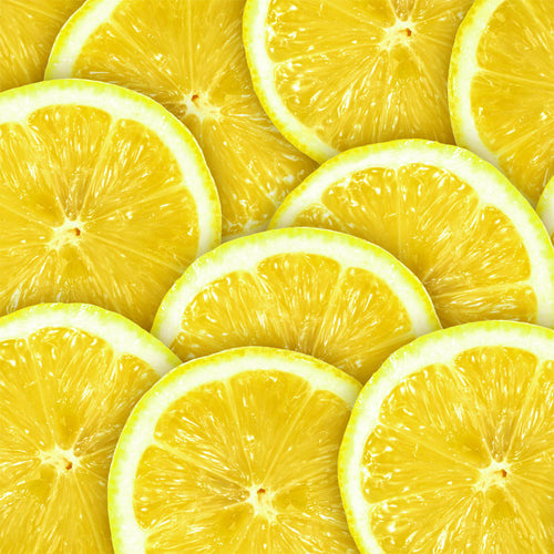 Abstract Lemon Background Wall Mural