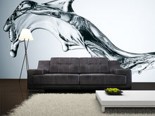 Load image into Gallery viewer, Abstract Splash of Water Wall Mural