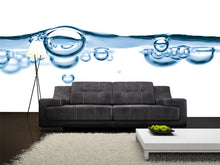 Load image into Gallery viewer, Abstract Water Bubbles Wall Mural