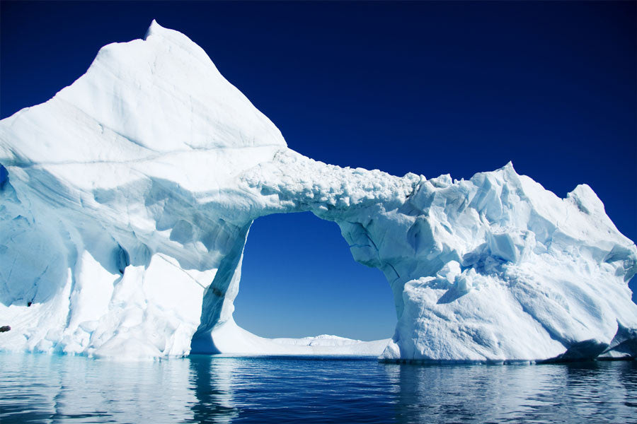 Arched Iceberg in Pieneau Bay Wall Mural