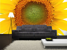 Load image into Gallery viewer, Beautiful Sunflower Wall Mural