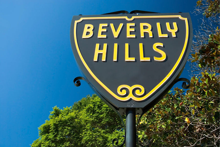 Beverly Hills Sign Los Angeles Wall Mural