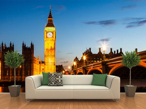 Big Ben and House of Parliament Wall Mural